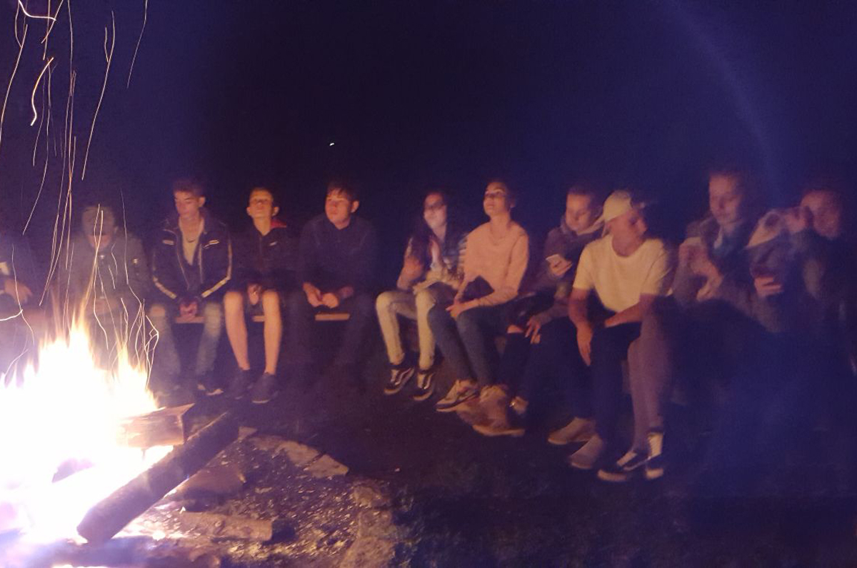 1a am Lagerfeuer